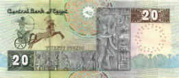 Egyptian note of twenty pounds