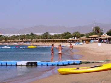 Sharm El Shekh beach in Naama bay